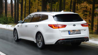 Kia Optima GT - rear