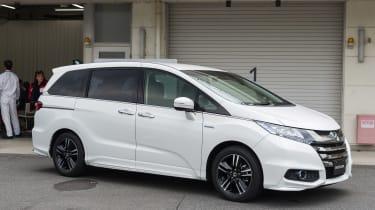 Honda i-MMD hybrid prototype - front static