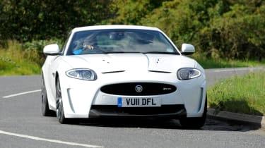 Jaguar XKR-S Coupe front cornering
