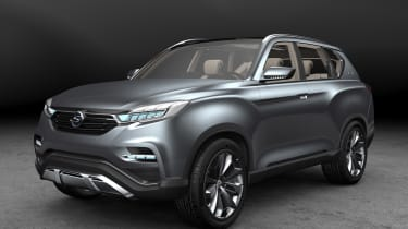 SsangYong Y400 concept front
