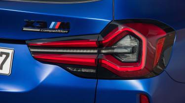 BMW X3 M - rear lights