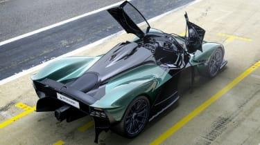 Aston Martin Valkyrie Spider rear