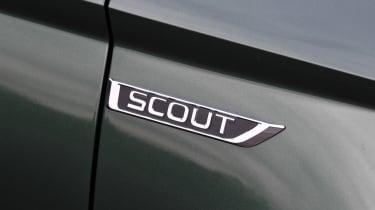 Skoda Karoq Scout - Scout badge
