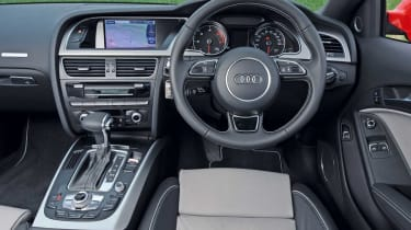 Audi A5 Coupe interior