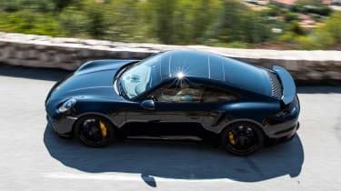 Porsche 911 Turbo prototype - above