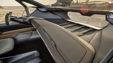 Audi AI:TRAIL concept - cabin