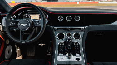 Bentley Continental GT Speed - dash