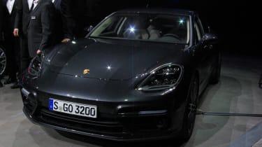 Porsche Panamera - studio front grey