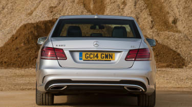 Used Mercedes E-Class - full rear