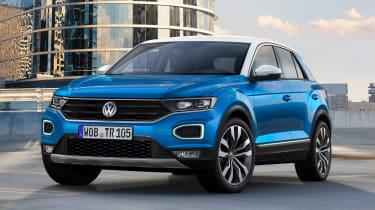 Volkswagen T-ROC - front/side