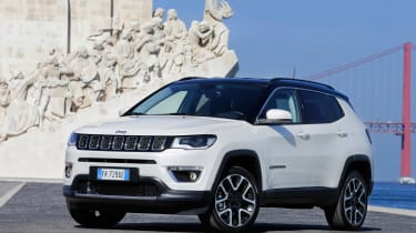 2017 Jeep Compass - front static quarter