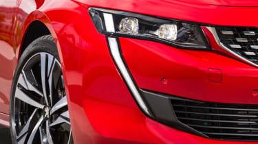New Peugeot 508 GT 1.6 turbo headlights