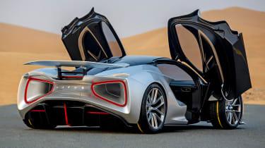 Lotus Evija rear
