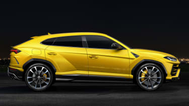 Lamborghini Urus - side profile
