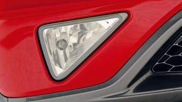 Honda Civic Mk8 - foglight detail