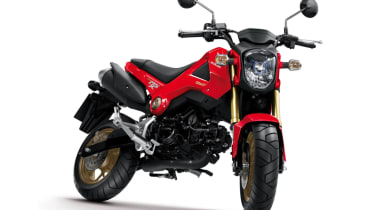 Honda MSX 125 review - front