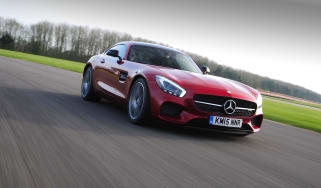 Mercedes-AMG GT S 2015 - tracking