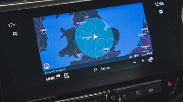 Vauxhall Corsa-e - sat-nav