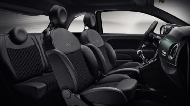 Fiat 500 Rockstar - interior