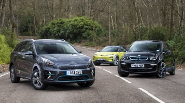 e-Niro vs i3 vs Kona electric