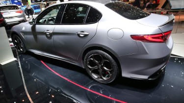 Alfa Romeo Giulia NRING - Geneva rear