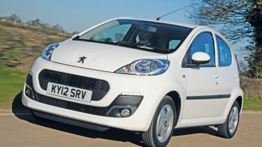 Peugeot 107 1.0 Active front tracking
