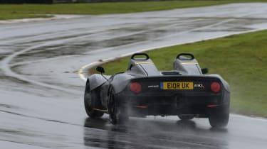 Zenos E10 review - rear cornering 2
