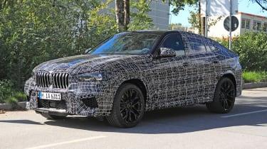 BMW X6 spy shots front