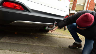 Kia Sorento long termer tow bar