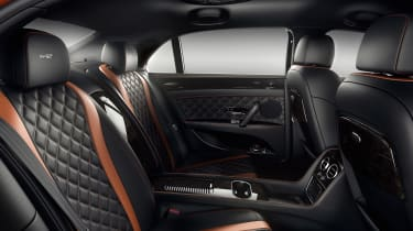 Bentley Flying Spur V12 S back seats