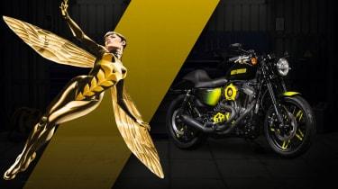 Harley Davidson Marvel Super Hero Customs - Wasp Fun Loving