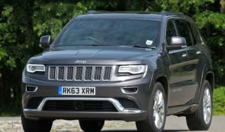 Jeep Grand Cherokee front