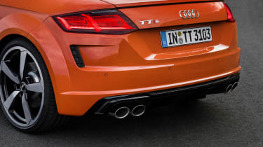 Audi TT S - tailgate