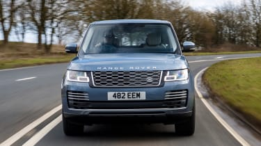 Range Rover PHEV - full front action
