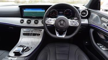 Mercedes CLS cockpit
