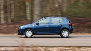 Dacia Sandero facelift - side
