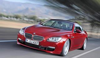 BMW 640i front track