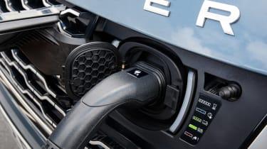 Range Rover PHEV - charging detail