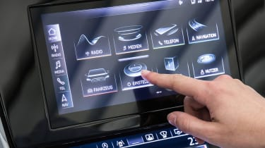 Audi A7 Sportback - infotainment