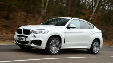 BMW X6 - front tracking