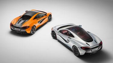 McLaren 570GT 2016 - versus 570S
