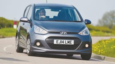Hyundai i10 - front action