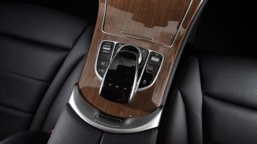 Mercedes GLC Coupe - cabin