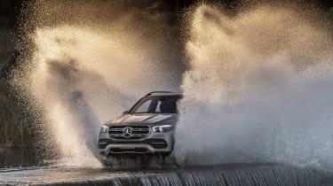 Mercedes GLE water splash
