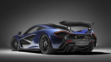 McLaren Special Operations P1 - rear