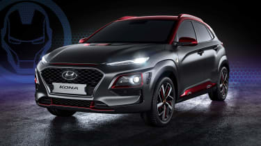 Hyundai Kona Iron Man Edition - front