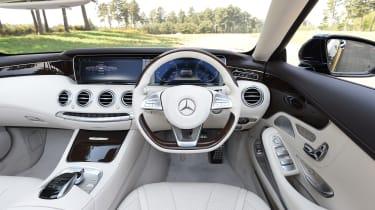 Mercedes S 500 Cabriolet 2016 - interior