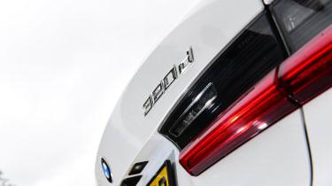 BMW 3 Series long termer - first report rear light