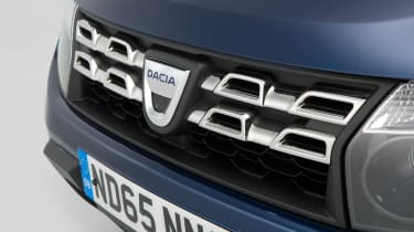 Used Dacia Duster - front detail