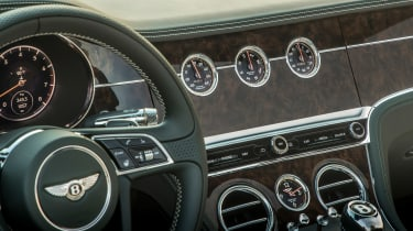 Bentley Continental GT Convertible - clocks